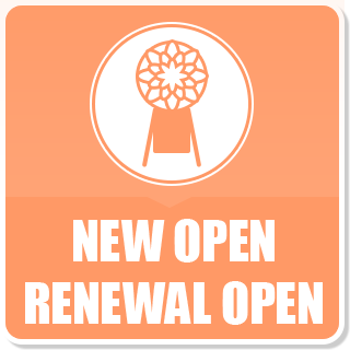 NEW OPEN RENEWAL OPEN